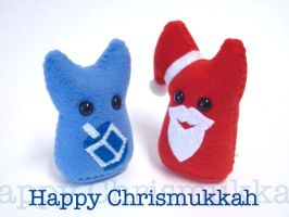 Happy Chrismukkah by mintconspiracy
