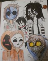 Creepypasta Boys by ETLKeiraTony