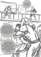 Linchpin CH.7 page sketch by EvilFuzz