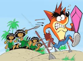 RUN CRASH BANDICOOT by rods3000