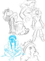 Sketches 12-9-15 by EymBee
