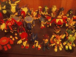 My Sonic figure collection 2012 10 by SirCalistine