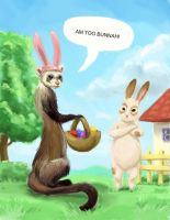 Am too Bunnah by nienor