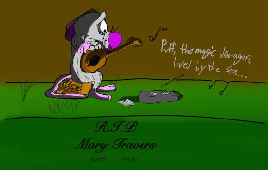 R.I.P. Mary Travers by NWolfman