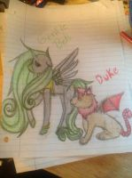 Gentle Bell and Duke by BeyalLoverMunk