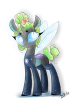 Changeling OC - Ubi by dragonfoxgirl