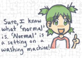 Normal? I Think Not. by dragonwind15