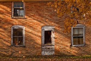 Upstairs Window by VFrance