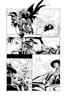 Sabretooth Mini fan Comic by RodneyCJacobsen