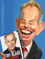 Tony Blair - Caricature 3 by Steveroberts