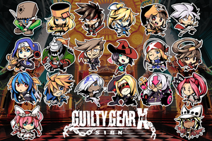 guilty gear chibi by shunao