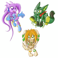Freedom Planet all three by crazyrems