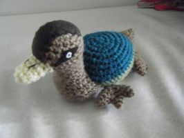 Turtle Duck Amigurumi Doll Special Request by ChibiSayuriEtsy