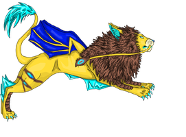 Voro Manticore for Freakazoid by pearlevil