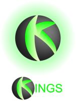 360Kings Logo by whimsycatcher