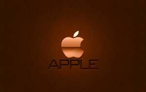Apple Wallpaper RUST by 1madhatter