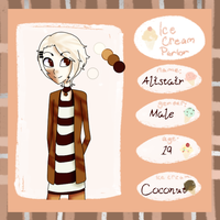 Ice Cream Parlor: Coconut by Transient-Fireworks