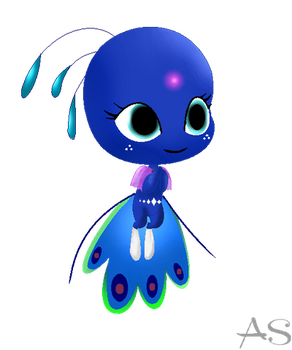 Miraculous Laybug- Duusu- Kwami New Style by violetteraMLP