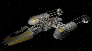 Y-Wing by enterprisedavid