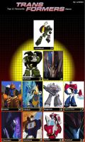 Top 11 Transformers by Mr-Wolfman-Thomas