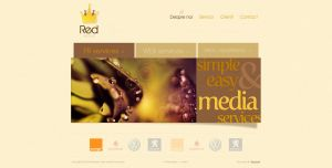 Red Media website by anca-v