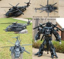 Blackout Repaint Black version by Unicron9
