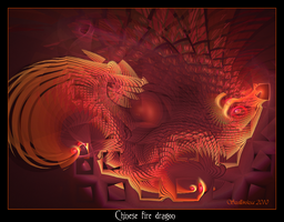 Chinese Fire Dragon by Szellorozsa