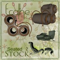 seated stock pack 02 by Ecathe