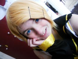 Vocaloid :: Rin Kagamine 9 by dawnleapord