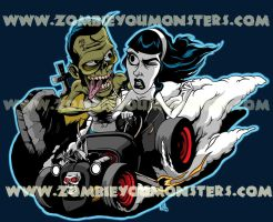 Rat Rod Monsters by zombie-you