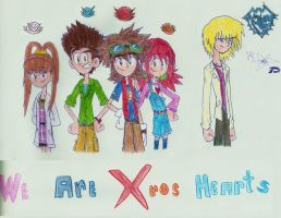 We Are XROS HEARTS / Fusion Fighters!! by digiphantom1994