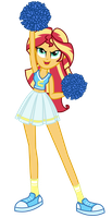 Cheerleader Sunset Shimmer by MixiePie