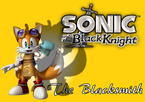 Sonic and the Black Knight - The Blacksmith by BingotheCat