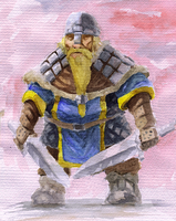 Swedish Dwarf Viking by Adzerak