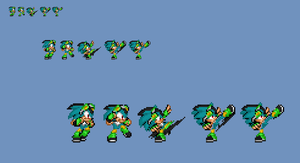 (Commission 1) Nico Sprites Up Attack by NSMBXomega