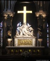 Notre Dame - The Cross by IrisAngel131