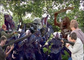 Shooting Orcs by Thenextera