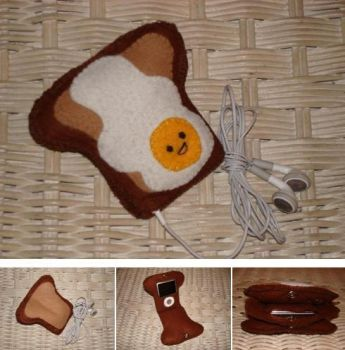Toasty iPod Cosy by Toast-Mania-Club