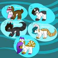 .:Adopt dogs:. by Babedoge