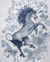 The unicorn by Ardid-Art