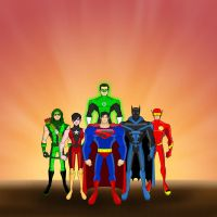New JLA Animated by ajb3art