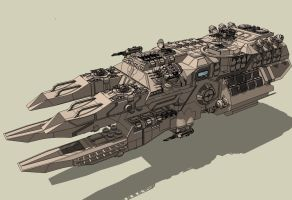 CFW-Battleship - Class Ballista by Lock-Mar