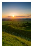 Sunrise Over Maiden Castle by Neutron2K
