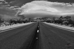On a Lonely, Lonesome, Highway by Creative--Dragon