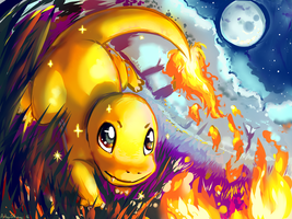 Shiny Charmander [+SPEEDPAINT VIDEO] by ArtsyShionai