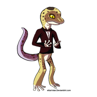 :Why am I dressed as Gex?: by eliza1star