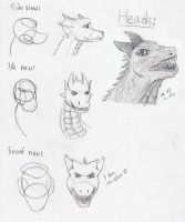 Dragons tutorial- part 1- head by Lathrin