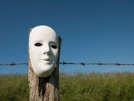 Mask 1 by Inilein