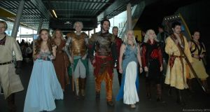 Game of Thrones Group by ArcaneArchery