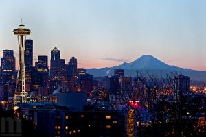cold seattle morning by stranj
